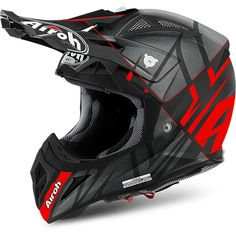 Airoh 2017 Aviator 2.2 Styling Red/Matte Black Helmet