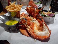Burger and Lobster (from A Girl Has To Eat blog)