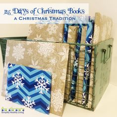 25 Days of Christmas Books-A great holiday tradition to start!