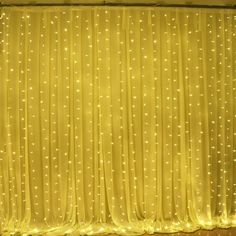 Solla Curtain Lights 600 LEDs Window Curtain Icicle Lights LED String Fairy Lights Linkable Design, 8 Modes,Warm White, Window Lights for Indoor Bedroom/Wedding/Party/Christmas Mehndi Decor, Mehendi Decor Ideas, Desi Wedding Decor, Wedding Stage Decorations, Backdrop Decorations, Holiday Decorations, Backdrop Ideas, Ball Decorations, Garden Decorations
