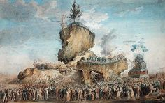Thomas Naudet Poster Print Wall Art Print entitled Festival of the Supreme Being at the Champs-de-Mars, 20 Priarial An II Wall Art Prints, Poster Prints, Canvas Prints, Camille Desmoulins, Revolutionary Artists, Musee Carnavalet, French Revolution, 18th Century, Art Boards