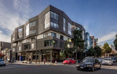 Fougeron Architecture clads San Francisco condo building in dark wooden dowels