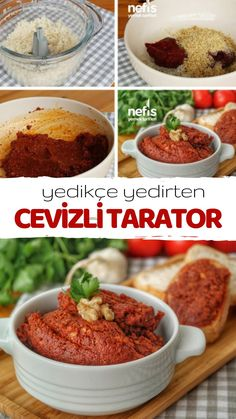 Videolu anlat m Yedik e Yedirten Cevizli Tarator Tarifi videolu nas l yap l r 10 121 ki inin defterindeki bu tarifin videolu anlat m ve deneyenlerin foto raflar burada # Wine Country Gift Baskets, Good Food, Yummy Food, Turkish Recipes, Crunches, Food Network, Smoothie Recipes, Cake Recipes, Gourmet