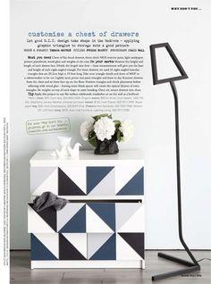 metamorfozy komody IKEA MALM, MALM makeover