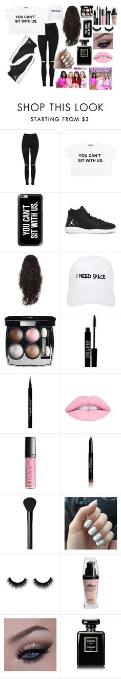 """""""Untitled #12"""" by keaira13 ❤ liked on Polyvore featuring Topshop, Casetify, NIKE, Nasaseasons, Chanel, Lord & Berry, Givenchy, NARS Cosmetics and GRETCHEN"""