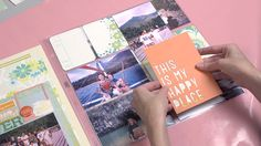 A Vacation Scrapbook with Project Life - paperclipping 218