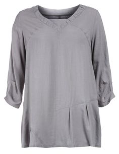 Wide-cut tunic with linen by Isolde Roth. Shop now: http://www.navabi.us/tunics-isolde-roth-wide-cut-tunic-with-linen-grey-12939-1400.html?utm_source=pinterest&utm_medium=social-media&utm_campaign=pin-it