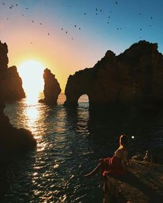7. In September 2015 I spent a few days in Lagos, Portugal. My friends @laura.laughlin and @benlaughlin55 let me third wheel in their camper van once again, while we made the most of the last European summer sun. Each morning Laura and I would watch the sunrise over Ponta da Piedade, explore the Old Town by day and watch the sunset with a beer in hand from Camilo Beach. This was a pretty magical introduction to Portugal and I can't wait to visit more of this country. #tuulatravels