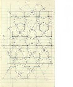 "jrfoxx: "" Mike Nelson, 408 tons of imperfect geometry, drawing "" Geometric Patterns, Islamic Patterns, Geometric Art, Geometric Designs, Textures Patterns, Geometric Sculpture, Geometric Drawing, Pattern Texture, Pattern Art"