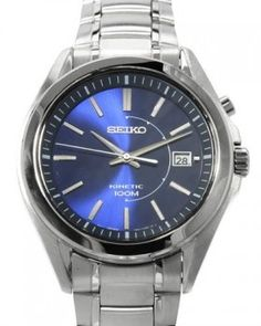 concord saratoga stainless steel mens watch 0310831 hannah seiko ska521 kinetic men s watch