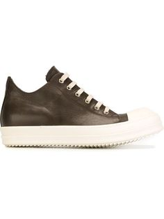 RICK OWENS Lace-Up Sneakers. #rickowens #shoes #flats