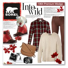 """""""The 1964 Premium Wedge from SOREL: Contest Entry"""" by kellylynne68 ❤ liked on Polyvore featuring Balmain, SOREL, Anja, Koral, Yves Saint Laurent, Alexander Wang, Tory Burch and sorelstyle"""