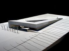 Jabotinsky Center, Chyutin Architects. Beautiful model, beautiful design.: Outdoor Furniture, Outdoor Decor, Sun Lounger, Modern, Table, Home Decor, Architecture, Chaise Longue, Homemade Home Decor