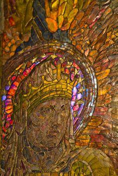 Mosaic, Louis Comfort Tiffany, St. Michael's Church, NYC.