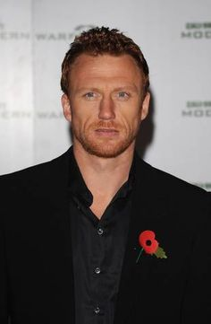 The object of my fantasies... Kevin McKidd AKA Owen Hunt on Grey's Anatomy