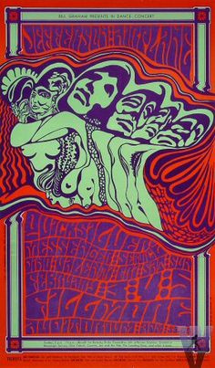 Jefferson Airplane Quicksilver Messenger Service and Dino Valenti at the Fillmore in San Francisco By Wes Wilson. Thanks for sharing Professor Poster. Psychedelic Rock, Psychedelic Experience, Psychedelic Posters, Hippie Posters, Rock Posters, Band Posters, Film Posters, Retro Poster, Poster Vintage