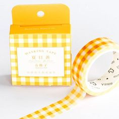 Japanese Washi tapes with beautiful patterns. Good selection of washi tapes in one place and best prices. Pandapen tapes will help you with you craft ideas, daily diares and yearly planners. Crafts For Teens, Arts And Crafts, Teen Crafts, Washi Tape Crafts, Washi Tapes, Stationary, Cute School Supplies, Office Supplies, Washi Tape