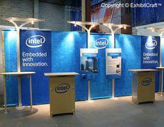 NJ Trade Show Displays - Technology Industry - Intel
