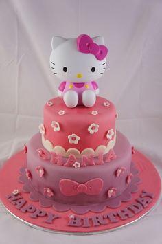 Hello Kitty Birthday Cake Design Cat Party