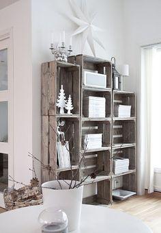 Cajas de madera en el salón ¿sí o no? | Decorar tu casa es facilisimo.com