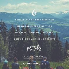1 Timoteo 2:5-6