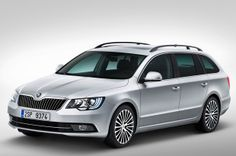 2013 Skoda Superb facelift priced for the UK. The car manufacturer from Mlada Boleslav has presented these days the new 2013 Skoda Superb Shanghai, Car Posters, Poster Poster, Volkswagen, Skoda Superb Combi, Skoda Fabia, Sport, Porsche, Classic Cars