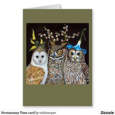 Hootenanny Time card