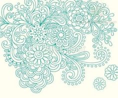 green-paisley-pattern-tattoo-designs.jpg (380×317)