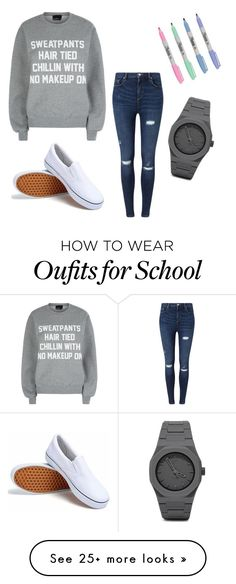 """Casual school look"" by shamelesslymaya on Polyvore featuring Miss Selfridge, Private Party and CC"