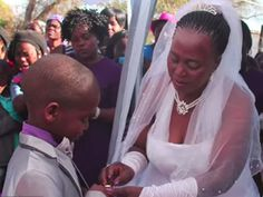 Saneie Masilela, 9, marries Helen Shabangu, 53 years his senior, for the second time