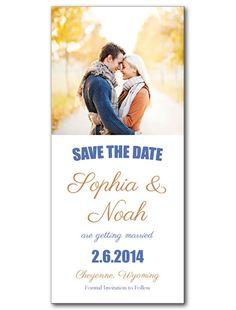 Love Devine Save the Date Card
