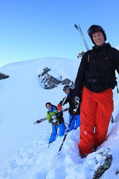 Harry, Oscar & Tom Hiking in Three Valleys France by SnowSkool, via Flickr