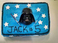 Amazon.com: DecoPac Star Wars Darth Vader Cake Topper Set: Toys & Games