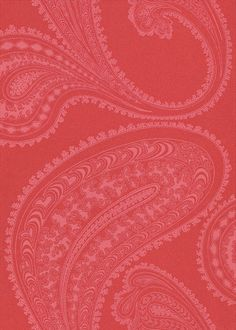 Rajapur Pink / Red wallpaper by Cole & Son