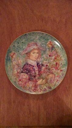 Flower Girl Of Provence By Edna Hibel