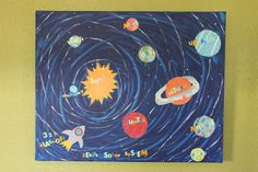 Solar System Art Projects | Monday, June 28, 2010