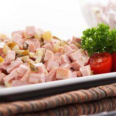 Quick & Easy Fleischsalat (German-Style Meat Salad)