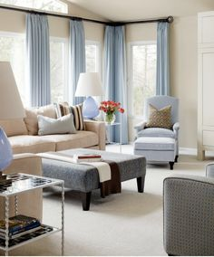 Transitional Living Room Design is the place where you spend time for joy in family togetherness. The best living room is very vital in any home. Living Room Colors, My Living Room, Home And Living, Living Room Designs, Living Room Decor, Modern Living, Cozy Living, Modern Room, Living Area