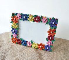 Paper quilled photo framePaper-Quilled228