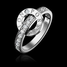 Bague or blanc diamant - Piaget Joaillerie G34PV100