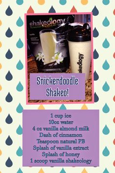 Sarah Griffith - : Snickerdoodle Shakeology