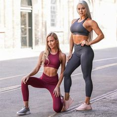 Yoga Suit Sport set Women's Tracksuit Tights Sportswear Fitness For Female Gym Clothing Workout Two Piece Jumpsuit Crop . Style Outfits, Sport Outfits, Gym Outfits, Boxing Outfits, Suits For Women, Fit Women, Running Suit, Gym Bra, Gym Workouts Women