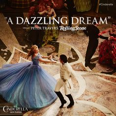 """Where there is kindness, there is goodness, and where there is goodness, there is magic."" See Cinderella today: http://di.sn/6001Lmfb"