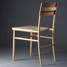 "David Ericsson ""revels in beech"" to create Madonna Chair"