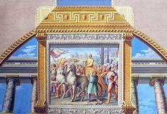 Volta XI - Quadro di Perin del Vaga - Trionfo di David