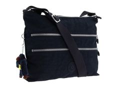This isn't the exact Bagelinni bag I have, but it's close… Alvar Shoulder/Cross-Body Travel Bag, True Blue