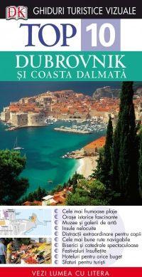 Top 10 Dubrovnik si Coasta Dalmata  Oricum aţi călători, la clasa întâi sau cu buget limitat, acest Ghid Turistic Vizual vă conduce spre minunatele locuri pe care vi le pot oferi Dubrovnik şi Coasta Dalmată. Listele diferite de Top 10, de la cele mai frumoase oraşe istorice la cele mai pitoreşti plaje, vă furnizează toate informaţiile necesare. Iar pentru a vă economisi timpul şi banii, vă prezentăm şi o listă cu lucruri de evitat.