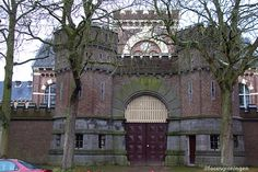 Van Mesdagkliniek. Hereweg, Groningen. The Netherlands.