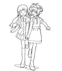 Resultado de imagen para chicas de anime para pintar