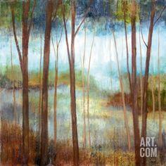 Soft Forest II Art Print by Nan at Art.com
